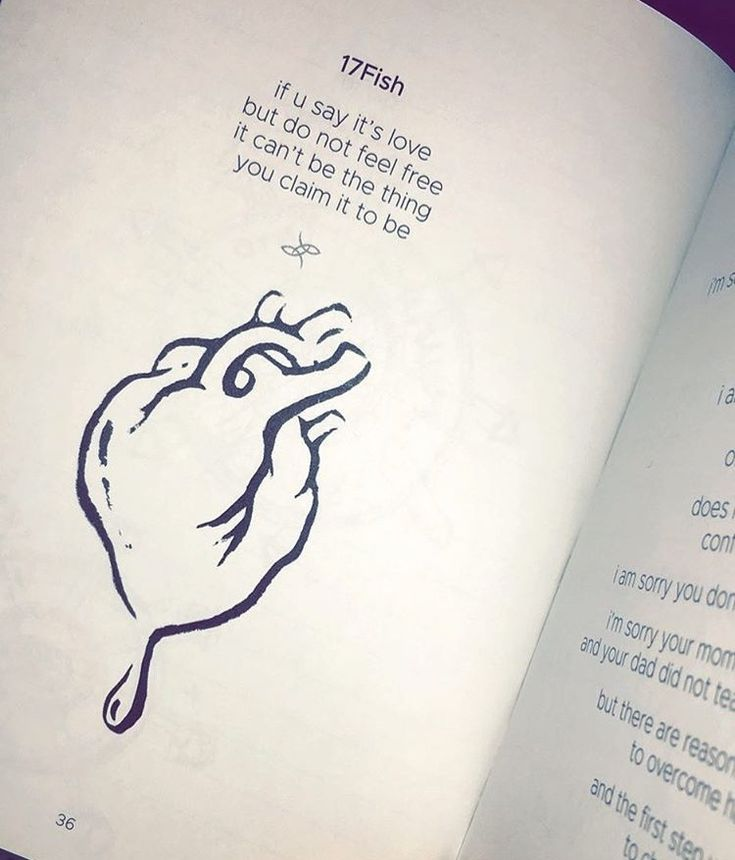 Poetry Book 2fish by Jhene Aiko