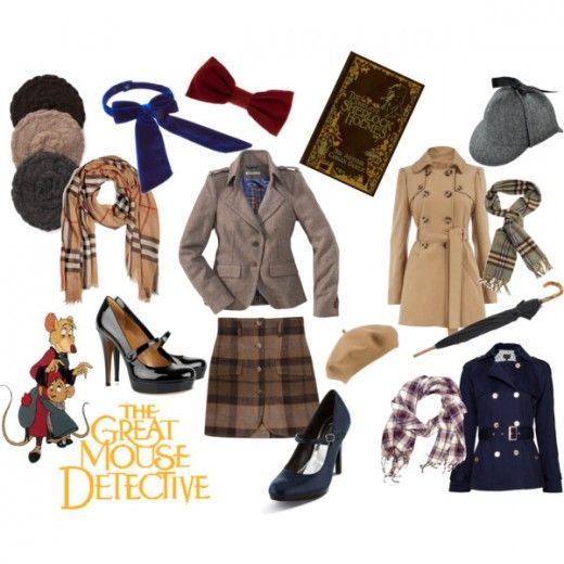 The Great Mouse Detective. Love, love, love this style!