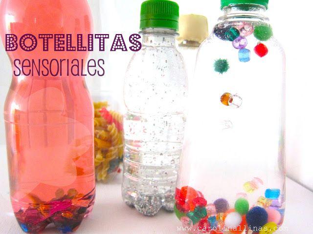 Del Blog Nuestro Mundo Creativo: Botellitas Sensoriales.