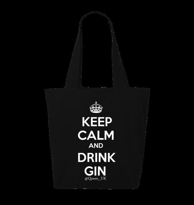 Keep Calm and Drink Gin Tote Bag