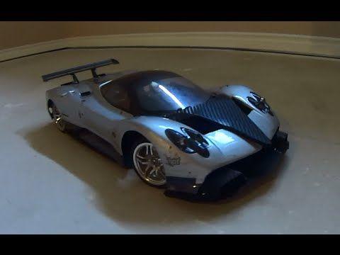 TT02 Pagani Zonda RC prototype - YouTube  [Custom Pagani Zonda 1/10 RC prototype]