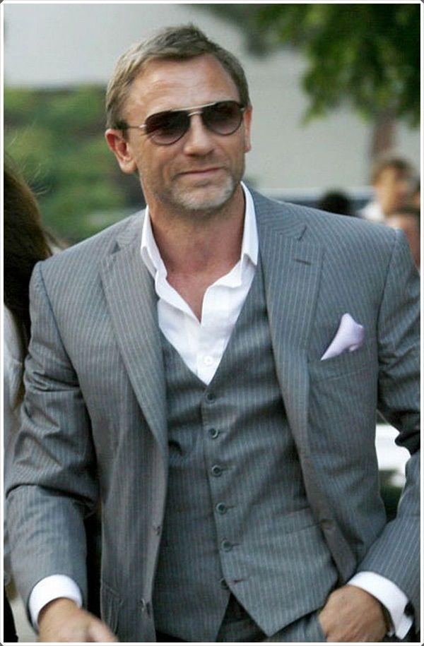 Stylish glasses can add a classy look to your suit and tie ensemble.