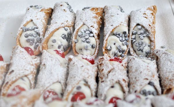 Follow along as we give you the scoop on making your own cannoli: homemade shells stuffed with a creamy ricotta, chocolate chip
