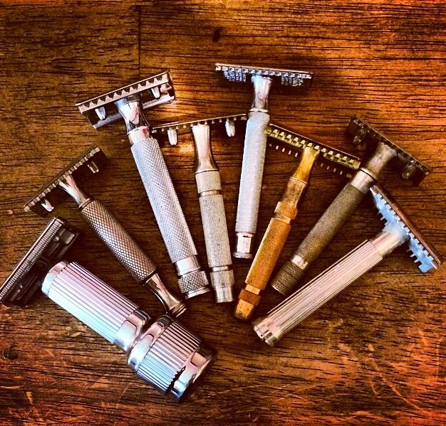 Vintage safety razors Wetshaving/Men's Grooming