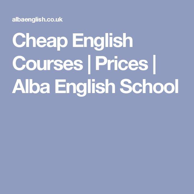 Cheap English Courses | Prices | Alba English School