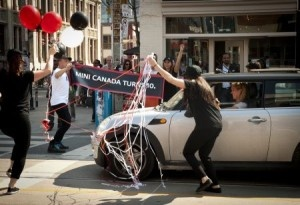 Mini Canada celebrated its 10th birthday with stoplight celebrations in Toronto, Montreal and Vancouver.