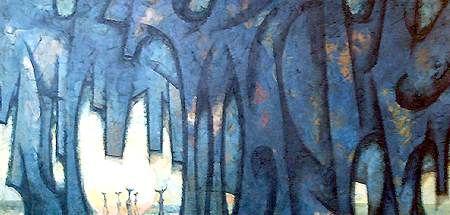abstract artist: Mansoor Rahi (pakistanian) #art #artist