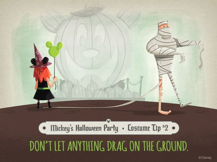disney mickeys halloween party tips love the art and design of these tip - Halloween Party Rules