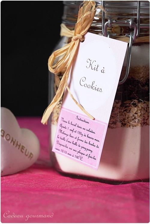 Kit cookies à offrir