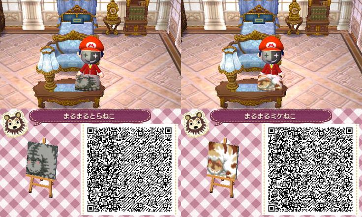 great for kitty pillows!! ACNL qr codes Pinterest Cats, Cushions and Pillows