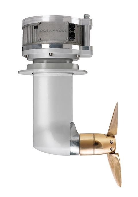 1x 8.6kW oceanvolt replaces 1x30hp diesel