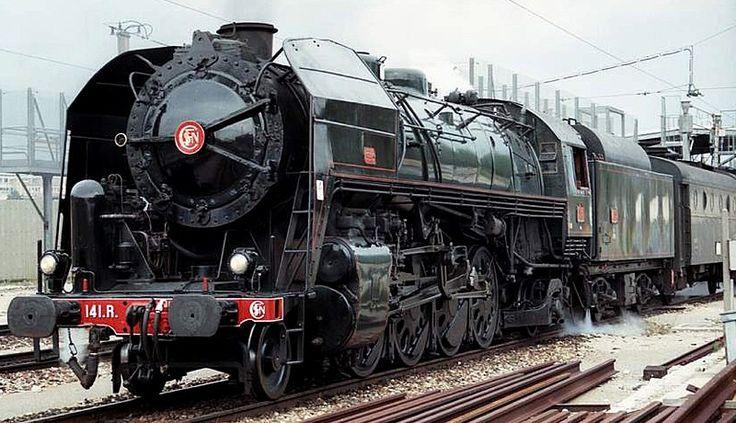 La 141 R France, 1944. La locomotive de la liberté construite aux Etats-Unis, elle redémarre l'économie française à la libération.