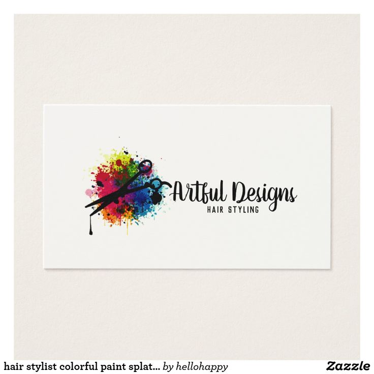 351 best hairstylist and makeup artist business cards images on ...