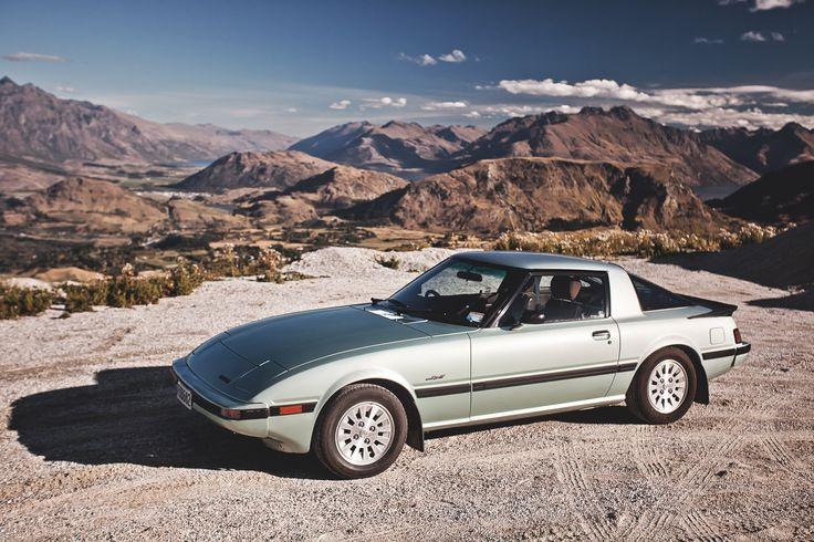 Series 3 1985 Mazda RX7 NewZealand new