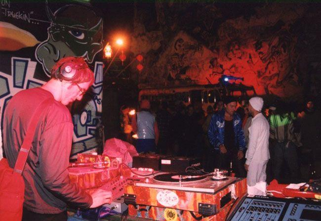 Dr Motte @ Graffiti Hall of fame