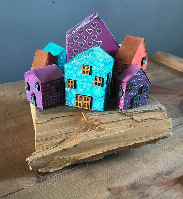 Calico Craft Parts: Houses Galore! by Lesley
