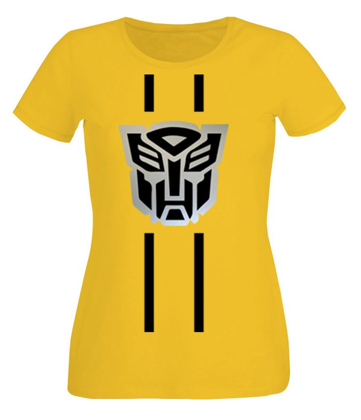 Ladies Bumble Bee Transformers T-shirt by LoveGlitzShop on Etsy