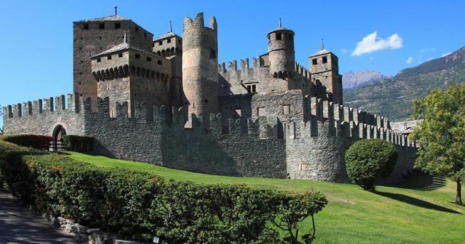 Valle d'Aosta... #castelli