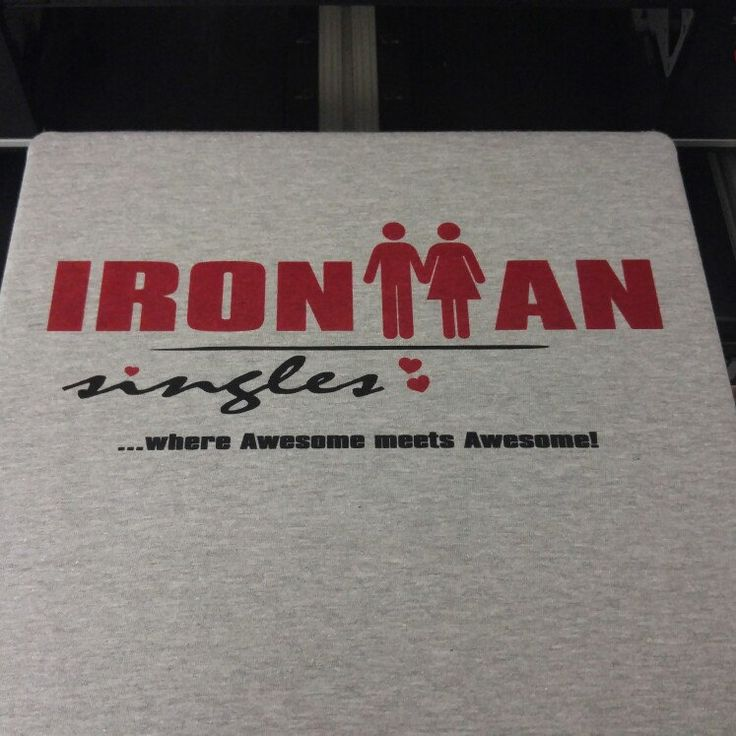 Ironman Singles Triathlete Tshirt 😘💘😍