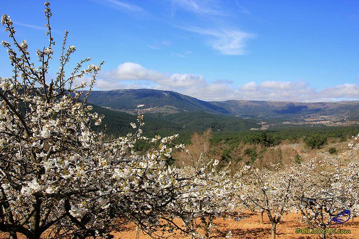 Una vista del Valle de Caderechas desde Herrera de Valdivielso hacia Huéspeda y que si el tiempo lo permite, este fin de semana va a estar rebosante de blanco inmaculado.