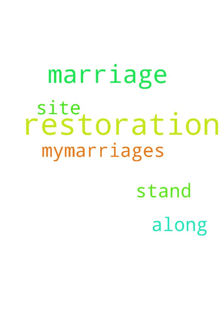 marriage restoration -  i would like to pray for the restoration of mymarriages along with the restoration of all the marriages on this site. so please stand with me in prayer.  Posted at: https://prayerrequest.com/t/uvw #pray #prayer #request #prayerrequest