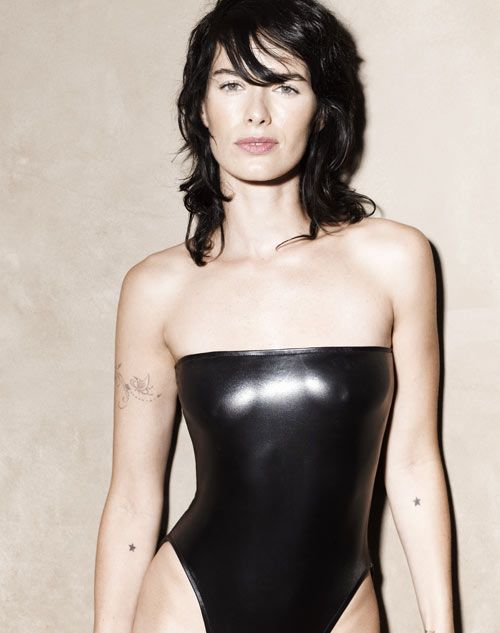 lena_headey in black tights makes me want to lose weight and get arm tats.