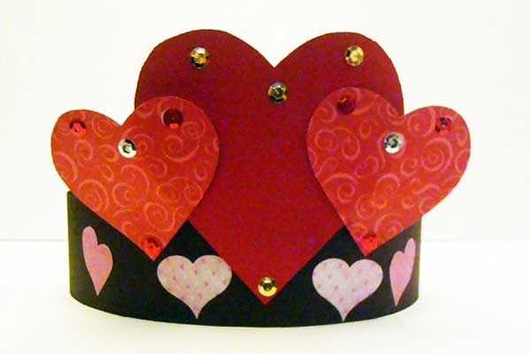 Preschool Crafts for Kids*: Valentine's Day Heart Crown Craft