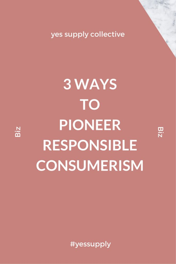 What is Responsible Consumerism? How can you be a pioneer in responsible consumerism? Learn ways to pioneer responsible consumerism. In this blog you will know how to identify opportunities for rResponsible consumerism. For more tips and tricks, be sure to comback at yessupply.co!