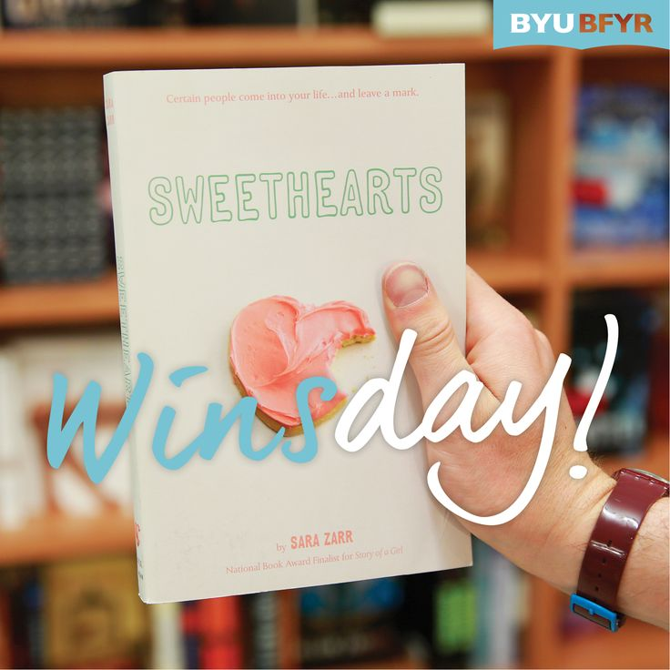 """Are you ready for some Sara Zarr  trivia?   To win a copy of """"Sweethearts,"""" post the name of the book by Sara Zarr that was inspired by the Elizabeth Smart kidnapping. You can comment here or on our Facebook page, linked on this picture."""