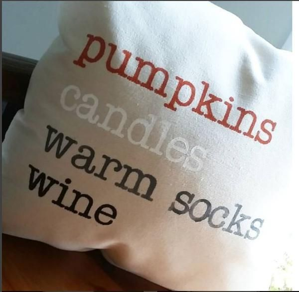 Pumpkins Candles Warms Socks Wine