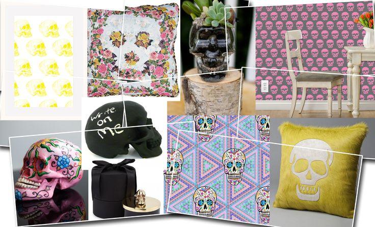 FRIDAY EDIT: WE LOVE… SKULLS Skull decor, home styling