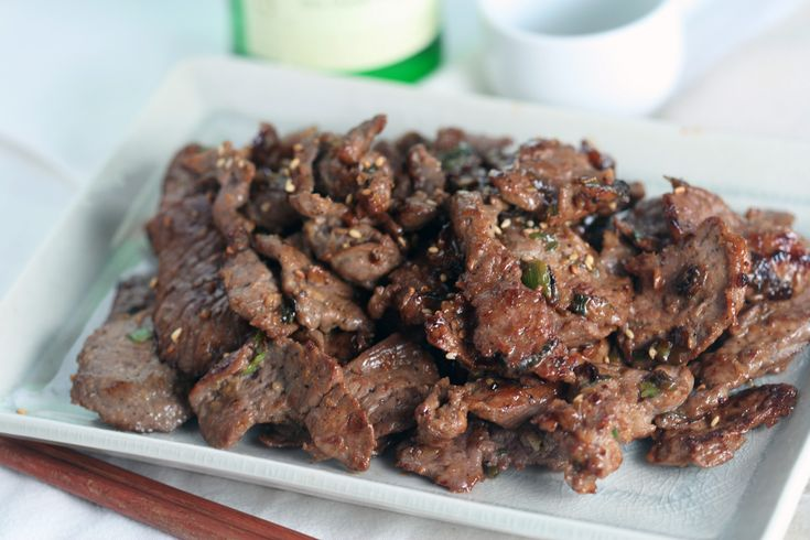 Bulgogi (Thinly Sliced Marinated Beef) | AsianSupper