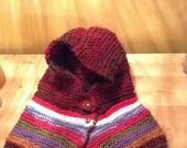 Collo con cappuccio in lana c'era una volta : Sciarpe, foulard, cravatte di blanka-artigianatoresistente #alittlemarket #handmade #blanka #artigianato resistente #emergency #natale #aziende #azienda #donazione #donazioni #onlus #nonprofit #solidarietà  #Torino