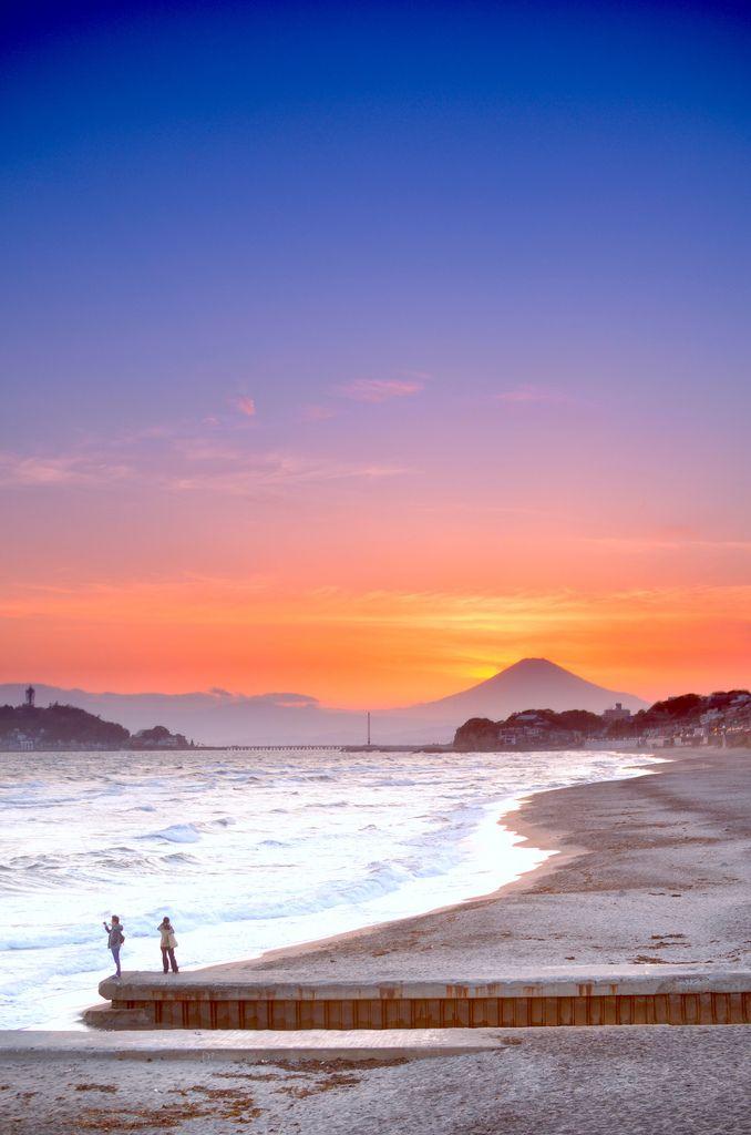 Mount Fuji View from Kamakura