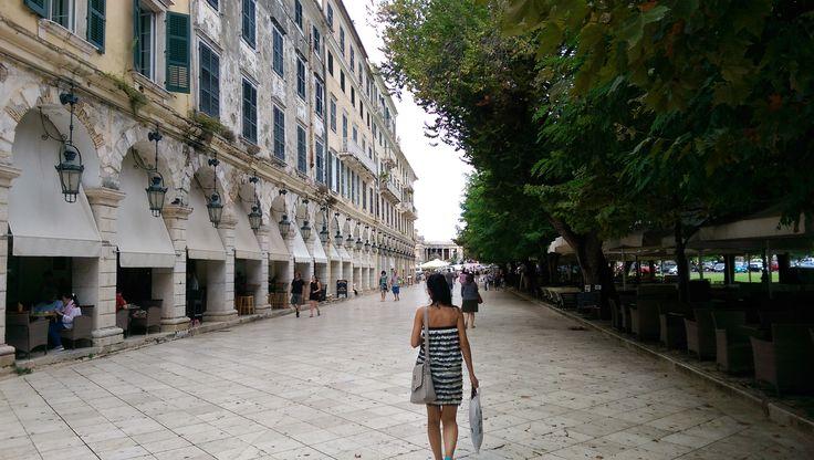 Spianada Square Esplanade – Corfu Town