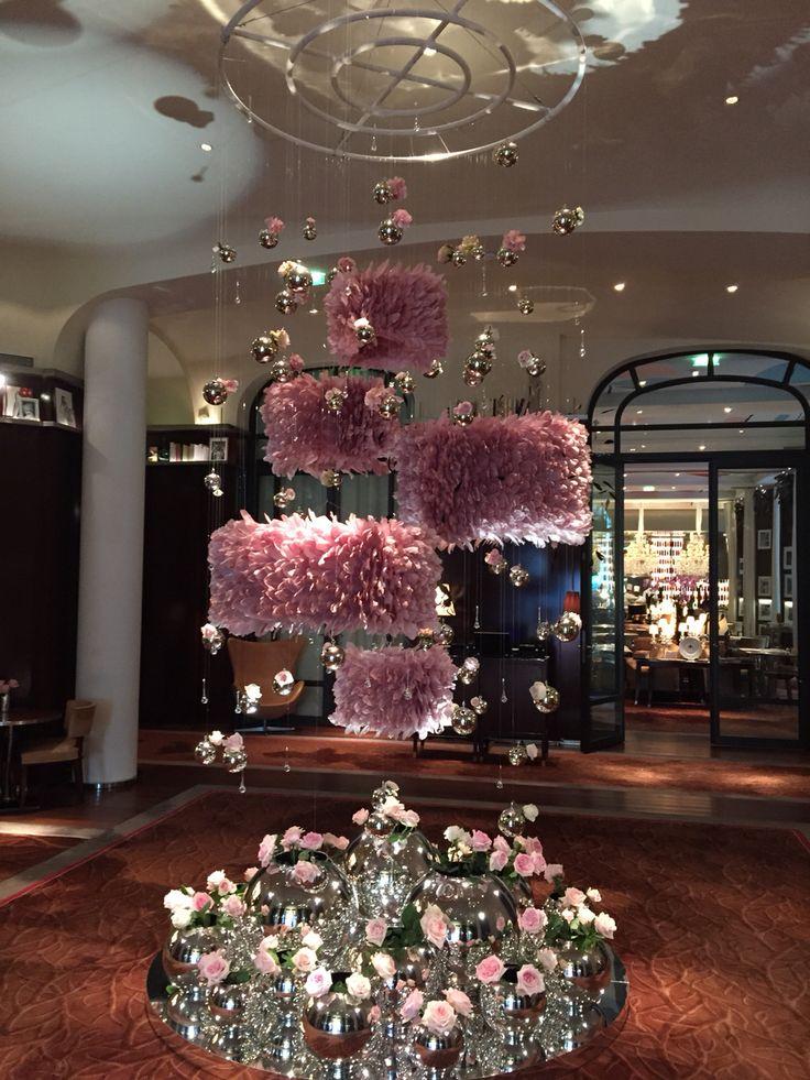 Parisian royal monceau hotel floating decor