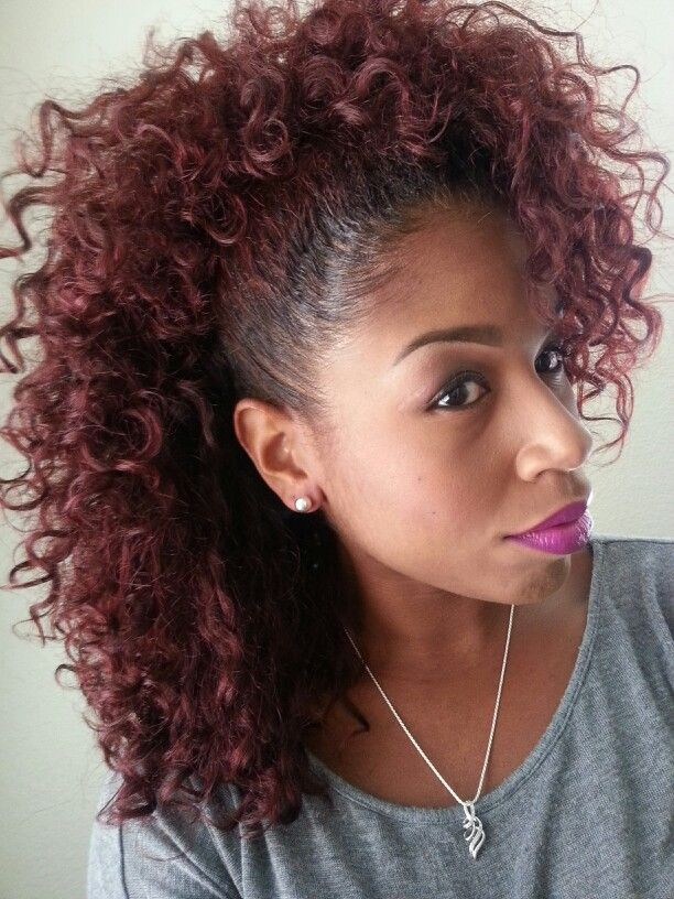 Fine 1000 Images About Curly Frohawk On Pinterest Mohawks A Natural Short Hairstyles Gunalazisus