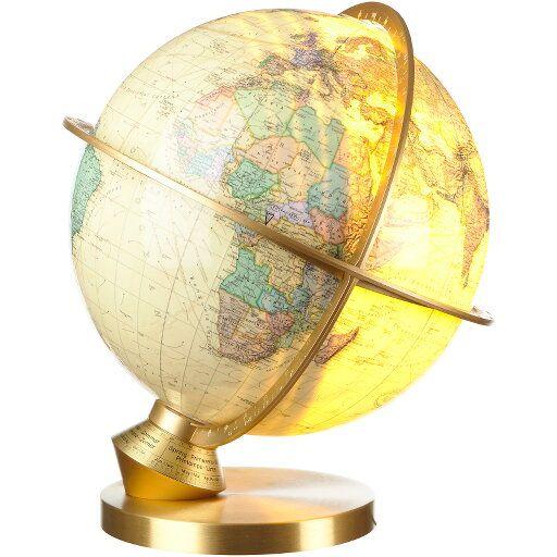 Annorlunda jordglob från tyska Columbus, en av världens äldsta tillverkare av jordglober.  ROYAL är en serie jordglober med detaljerad politisk karta…