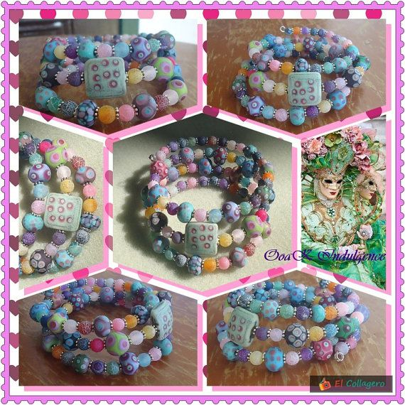 Trippy the most fun bracelet you will ever own by OoaKIndulgence