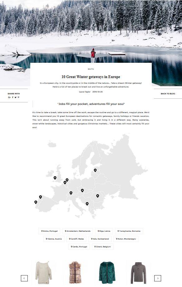 10 Great Winter getaways in Europe | UNIKSTORE Blog