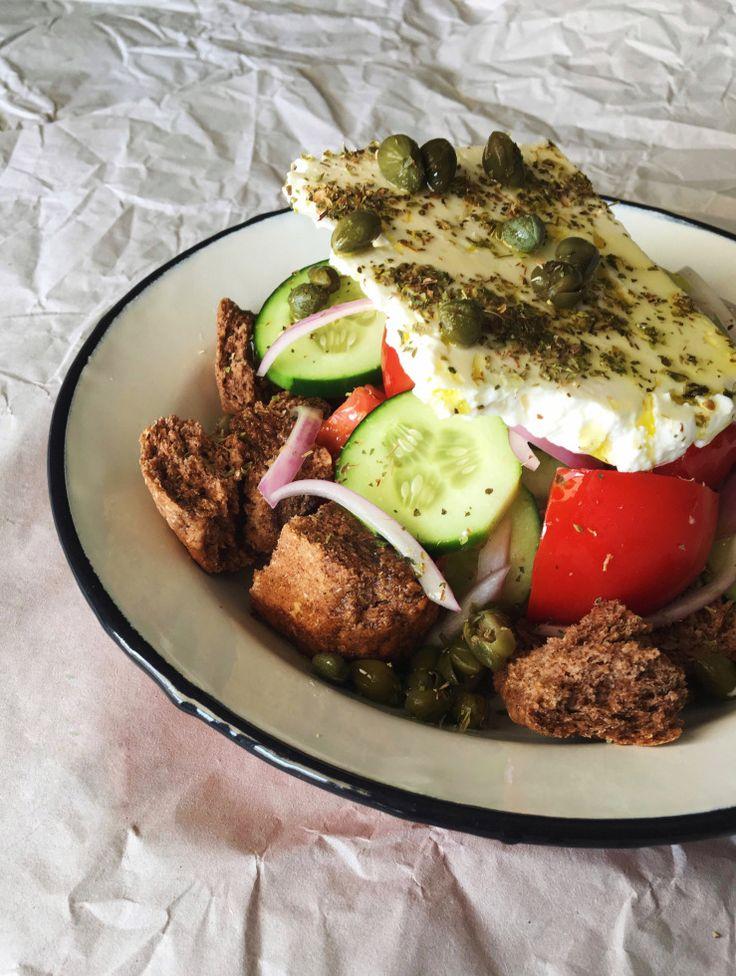 Traditional Cretan Salad