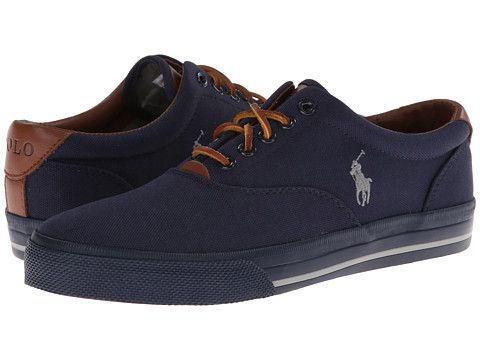 Polo Ralph Lauren Vaughn Pure White/Harbor Island Blue/Navy - Zappos.com Free Shipping BOTH Ways