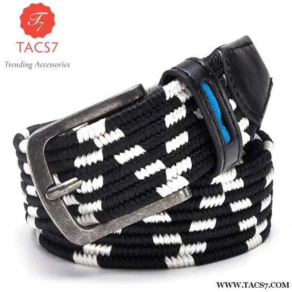 Elastic Belt With Stretch Casual Golf Trending Accessories