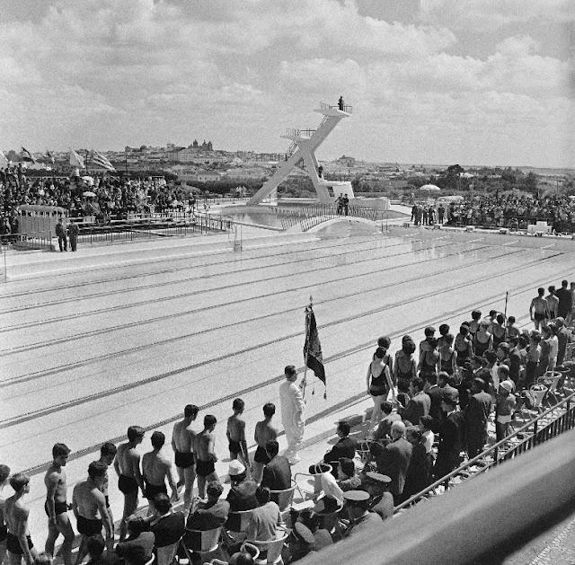 Inauguração das Piscinas Municipais de Évora