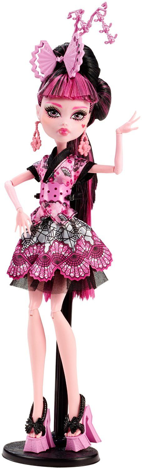 Monster High Monster Exchange Program Draculaura. Draculaura's off to Shibooya, Japan to spend a scaremester there!♡