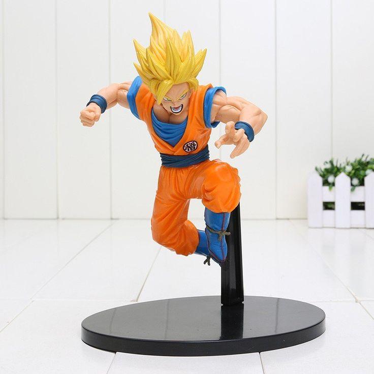 DBZ Son Goku Super Saiyan 2 Rigid Yellow Hair Transformation Action Figure #DBZ #Son #Goku #Super #Saiyan #2 #Rigid #Yellow #Hair #Transformation #Action #Figure