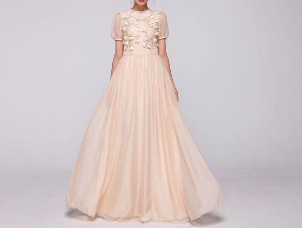 Bruiloft chiffon Gaas bruidsmeisje Formele kleding van Customsize op DaWanda.com