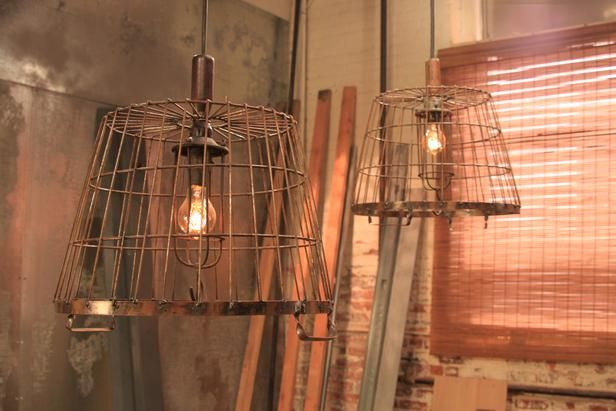 After: Industrial Light Fixture Cool industrial light fixtures are all the rage, which makes partners Kim and Chandi's on-trend project one ...