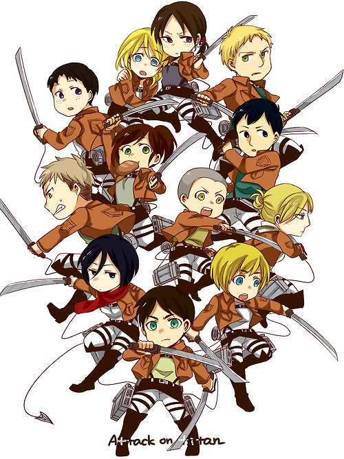 attack on titan, Attack on titan