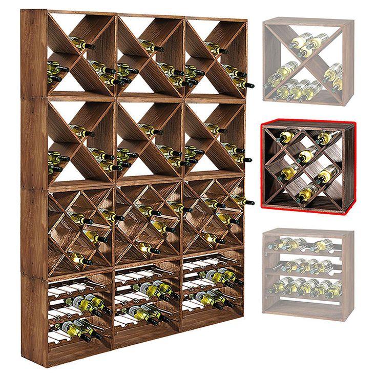 Cantinetta vino in legno 11